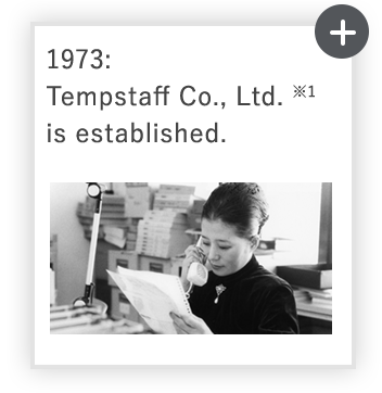 1973: Tempstaff *1  established
